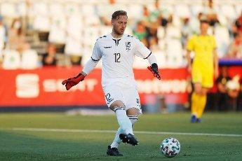 Tomas Svedkauskas (LTU), JUNE 8, 2021 - Football \/ Soccer : International Friendly match between Spain 4-0 Lithuania at the Estadio Butarque in Leganes, Spain. (Photo by Mutsu Kawamori\/AFLO