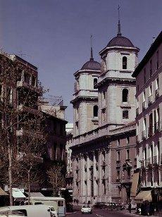 EXTERIOR DE LA COLEGIATA DE SAN ISIDRO - SIGLO XVII - FOTO AÑOS 60. Autor: PEDRO SANCHEZ 1569\/1633 Y FANCISCO BAUTISTA 1594\/. Localización: COLEGIATA DE SAN ISIDRO-EXTERIOR. MADRID. ESPAÑA.EXTERIOR DE LA COLEGIATA DE SAN ISIDRO - SIGLO XVII - FOTO AÑOS 60. Author: PEDRO SANCHEZ 1569\/1633 Y FANCISCO BAUTISTA 1594\/. Location: COLEGIATA DE SAN ISIDRO-EXTERIOR. MADRID. SPAIN.. Album \/ Oronoz. MADRID SPAIN.