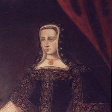 JUANA LA LOCA. REINA DE CASTILLA.1479-1555 . HIJA DE LOS REYES CATOLICOS.. DETALLE RETRATO.JUANA LA LOCA. REINA DE CASTILLA.1479-1555 . HIJA DE LOS REYES CATOLICOS.. DETALLE RETRATO.. Album \/ sfgp. .
