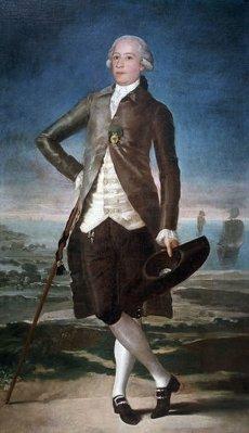 JOVELLANOS, MELCHOR GASPAR DE . POLITICO Y JURISTA ESPAÑOL. GIJON 1744-1811. COLECCION PARTICULAR. BARCELONA. OLEO DE FRANCISCO DE GOYA. Autor: FRANCISCO DE GOYA Y LUCIENTES.JOVELLANOS, MELCHOR GASPAR DE . POLITICO Y JURISTA ESPAÑOL. GIJON 1744-1811. COLECCION PARTICULAR. BARCELONA. OLEO DE FRANCISCO DE GOYA. Author: FRANCISCO DE GOYA Y LUCIENTES.. Album \/ sfgp. .