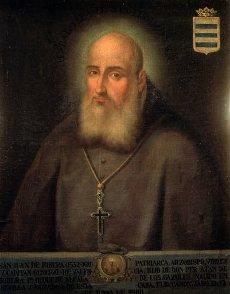 JUAN DE RIBERA , SAN. ECLESIASTICO ESPAÑOL. SEVILLA 1533-1611. ANONIMO. CASA DE PILATOS. SEVILLA.JUAN DE RIBERA , SAN. ECLESIASTICO ESPAÑOL. SEVILLA 1533-1611. ANONIMO. CASA DE PILATOS. SEVILLA.. Album \/ sfgp. .