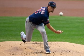 August 11, 2020: Minnesota Twins relief pitcher Tyler Clippard #36 delivers a pitch during the Major League Baseball game between the Milwaukee Brewers and the Minnesota Twins at Miller Park in Milwaukee, WI. John Fisher
