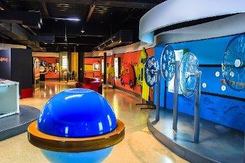 Abrakadabra Interactive Museum at the Departmental Library in Cali, Valle del Cauca