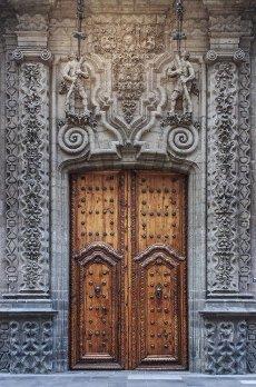 Palacio de Cultura Banamex at Francisco I. Madero street, Mexico City, D.F