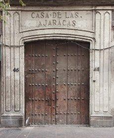 Casa de las Ajaracas in downtown, Mexico City