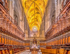 Choir, Cathedral of Seville, Spain