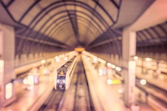 Train, Santa Justa Railway Station, Seville, Spain