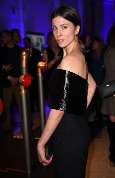 21 February 2020, Berlin: 70th Berlinale, Party Blue Hour: Actress Aylin Tezel . The International Film Festival takes place from 20.02. to 01.03.2020. Photo: Britta Pedersen/dpa-zentralbild/
