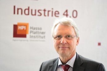 20 February 2020, Brandenburg, Potsdam: Christoph Meinel, Director and CEO of the Hasso Plattner Institute (HPI), before the start of the HPI