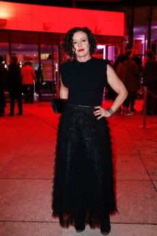 """20 February 2020, Berlin: 70th Berlinale, Opening Party: Actress Maria Schrader at the opening party of the International Film Festival. The Berlinale opens with the film """"My Salinger Year"""". Photo: Gerald Matzka/dpa-Zentralbild/"""
