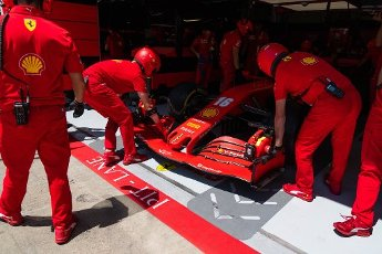 Motorsports: FIA Formula One World Championship 2020, Grand Prix of Austria, #16 Charles Leclerc (MCO, Scuderia Ferrari Mission Winnow), | usage