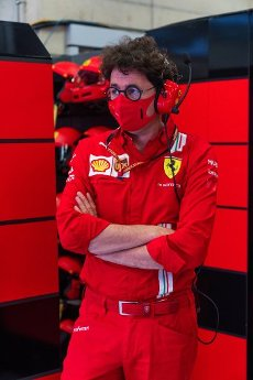 Motorsports: FIA Formula One World Championship 2020, Grand Prix of Austria, Mattia Binotto (ITA, Scuderia Ferrari Mission Winnow), | usage