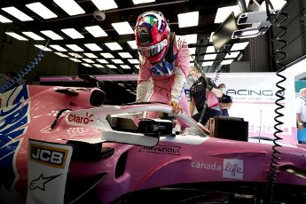 Motorsports: FIA Formula One World Championship 2020, Grand Prix of Austria, #11 Sergio Perez (MEX, BWT Racing Point F1 Team), | usage