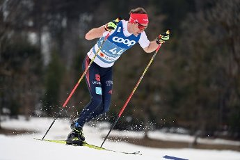 Florian NOTZ (GER), action, single action, single image, cut out, whole body shot, whole figure. Cross Country Men 15 km Interval Start Free, cross-country skiing, men on 03.03.2021. FIS Nordic World Ski Championships 2021 in Oberstdorf from February 22nd to March 7th, 2021. | usage worldwide