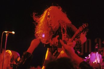 Monty Colvin of the Galactic Cowboys live at the Marquee Club. London, 08\/28\/1991 | usage worldwide