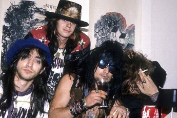 The Dogs D\'Amour at a photoshoot at Polygram Records. London, November 18, 1990   usage worldwide