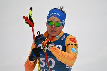 Lucas BOEGL (GER) at the finish, exhausted, action, single image, trimmed single motif, half figure, half figure. Cross Country Men 15 km Interval Start Free, cross-country skiing, men on 03.03.2021. FIS Nordic World Ski Championships 2021 in Oberstdorf from February 22nd to March 7th, 2021.   usage worldwide