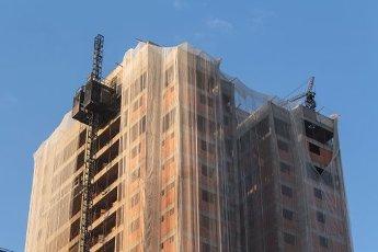 SÃO PAULO, SP - 12.08.2020: THE NUMBER OF BUILDINGS IN SÃO PAULO GROWS - Growth of Buildings in the East Zone. Development under construction on Rua Ibitinga in the Mooca neighborhood in São Paulo. Photos taken on Tuesday afternoon (11). (Photo: Yuri Murakami\/Fotoarena