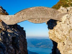 Himmelspforte am Schafberg, Salzkammergut, Salzburger Land, Austria