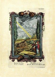 Genesis 6\/14, Die Arch gebauet aus dem Holtz Gopher, plate 35 from Physica sacra or Copper Bible by Johann Jakob Scheuchzer (1672-1733