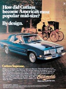 """CIUDAD DE MÃXICO, agosto 14 (EL UNIVERSAL).- """"Existe. Es real"""", era el lema de campaña en 1987 para el lanzamiento de Cutlass en México bajo la gama Chevrolet y que, en su mercado de origen, se ofrecía como Oldsmobile Cutlass Ciera, lo que en nuestro léxico se prestaría a juegos de palabras entre que si era o no era. Foto"""