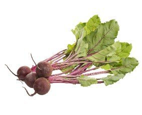 Beet,  beetroot bunch isolated on white background