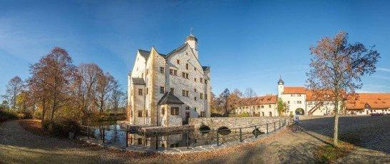 Water Castle Klaffenbach near Chemnitz