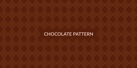 Seamless Chocolate Pattern Vector Illustration