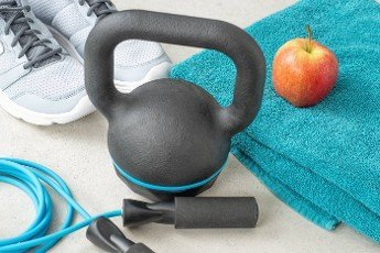 Sport and fitness equipment - Close up