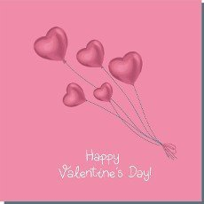 Beautiful template with red greeting card valentine\'s day. Holiday background. Decorative symbol. Fashion concept.