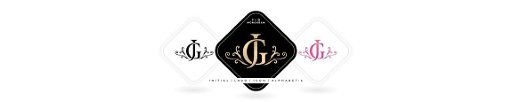 JG or GJ initial letter and graphic name,  JG or GJ Monogram,  for Wedding couple logo monogram,  logo company and icon business,  with three colors variation designs with isolated white backgrounds
