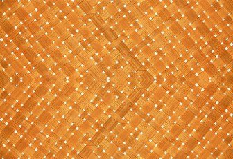 wicker basket or woven basket texture and pattern,  Bamboo woven textured,  detail handcraft bamboo weaving texture backgrounds,  with yellowed colors natural. applicable backgrounds banner,  wallpaper.