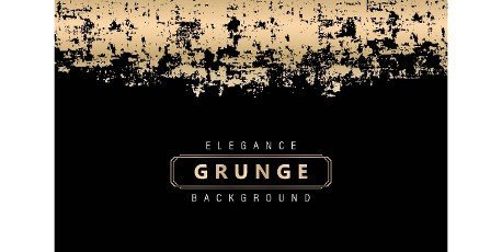 Elegance Golden grunge with isolated black backgrounds. Details Textures grungy unique styles. applicable for banner,  backdrops,  fabric print,  and wallpaper for agency and corporate