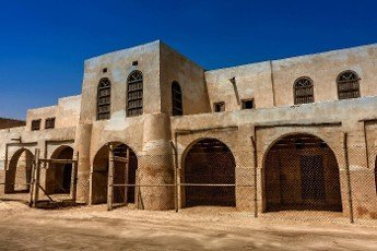 The easternmost outpost of the Ottoman Empire in Arabian Peninsula