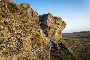 Rock called Hölzlstein in Burgenland