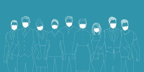 Medical Staff Wearing Face Mask in Global Epidemic
