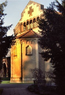 chapel of the city cemetery Engesohde  in Hannover