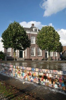 square in the old town of Harderwijk in the Netherlands