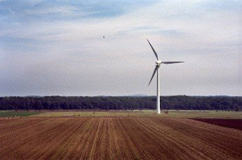 wind turbine on the Kronsberg Hill in Hannover