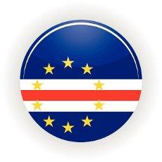 Cape Verde icon circle isolated on white background. Praia icon vector illustration