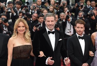 May 15, 2018 - Cannes, France: John Travolta, Kelly Preston attend the \'Solo: a Star Wars Story\' premiere during the 71st Cannes film festival. (Mehdi Chebil\/Polaris