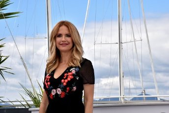 May 15, 2018 - Cannes, France. Kelly Preston. John Travolta and the director of movie Gotti attends the photocall for the Rendezvous with John Travolta. At the Palais des Festivals during the 71st annual Cannes Film Festival. (Piero Oliosi\/Polaris