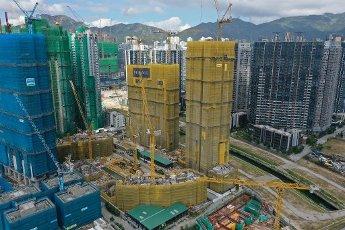 Overall view of Monaco development by Wheelock Properties, 12 Muk Tai Street, Kai Tak. 20NOV20 SCMP\/ Winson