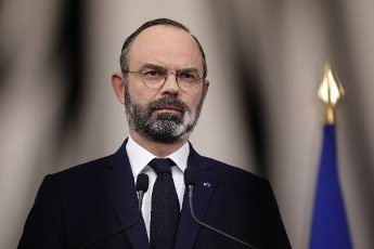 French Prime Minister Edouard Philippe speaks during a press conference in Paris, on March 28, 2020, on the eleventh day of a strict nationwide confinement in France seeking to halt the spread of the COVID-19 infection caused by the novel coronavirus. - The death toll from the coronavirus epidemic in Europe surged past 20,000 on March 28, 2020, even as the Chinese city where the outbreak began cautiously returned to life. Europe and the United States are facing a staggering increase in new cases of COVID-19 -- despite perhaps a third of humanity now living under lockdown.//04SIPA_1120.5861/2003282034/Credit:VAN DER HASSELT/POOL/SIPA/