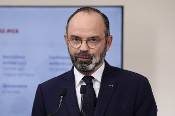 French Prime Minister Edouard Philippe speaks during a press conference in Paris, on March 28, 2020, on the eleventh day of a strict nationwide confinement in France seeking to halt the spread of the COVID-19 infection caused by the novel coronavirus. - The death toll from the coronavirus epidemic in Europe surged past 20,000 on March 28, 2020, even as the Chinese city where the outbreak began cautiously returned to life. Europe and the United States are facing a staggering increase in new cases of COVID-19 -- despite perhaps a third of humanity now living under lockdown.//04SIPA_1120.5847/2003282030/Credit:VAN DER HASSELT/POOL/SIPA/