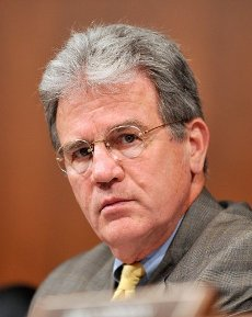 """March 28, 2020 - Tom Coburn, a former US congressman from Oklahoma and obstetrician, died at his home Saturday, according to a statement from his family. He was 72. Coburn, a Republican dubbed """"Dr. No"""" by his Democratic colleagues, was a staunch fiscal and social conservative who battled lawmakers over money for pet projects in their home states and fought for anti-abortion legislation throughout his career. He served in the US Senate from 2005-2015, after having been a member of the US House of Representatives from 1995-2001. File Photo: Washington, DC - July 14, 2009 -- United States Senator Tom Coburn (Republican of Oklahoma) listens to the testimony of Judge Sonia Sotomayor during her testimony before the U.S. Senate Judiciary Committee on her nomination as Associate Justice of the U.S. Supreme Court on Tuesday, July 14, 2009..Credit: Ron Sachs / CNP/AdMedia//Z-ADMEDIA_adm_TomCoburn_1948-2020_CNP_017/2003282047/Credit:Ron Sachs/CNP/AdMedia/SIPA/"""