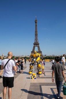 Tour Eiffel et Trocadero. COVID 19, les parcs et jardins Parisiens ouvrent leurs portes. Paris, FRANCE- 30\/05\/2020.\/\/04MEIGNEUX_meigneuxG028\/2005310909\/Credit:ROMUALD MEIGNEUX\/SIPA\/