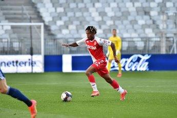 Gelson Bathala Martins AS Monaco Match Ligue 1 Uber Eats Girondins de Bordeaux vs AS Monaco Stade Matmut Atlantique Bordeaux 18 avril 2021\/\/VAQUERODANIEL_1911.16064\/2104191259\/Credit:Daniel Vaquero\/SIPA
