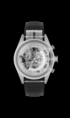 Designer watch, X-ray