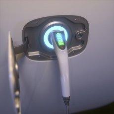 Electric vehicle charging, illustration